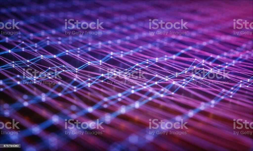 Trübung Computerverbindungen – Foto