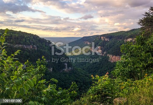 Cloudland Canyon State Park in norther Georgia