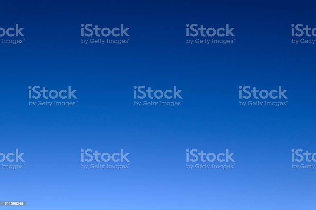 Cloudless Sky stock photo