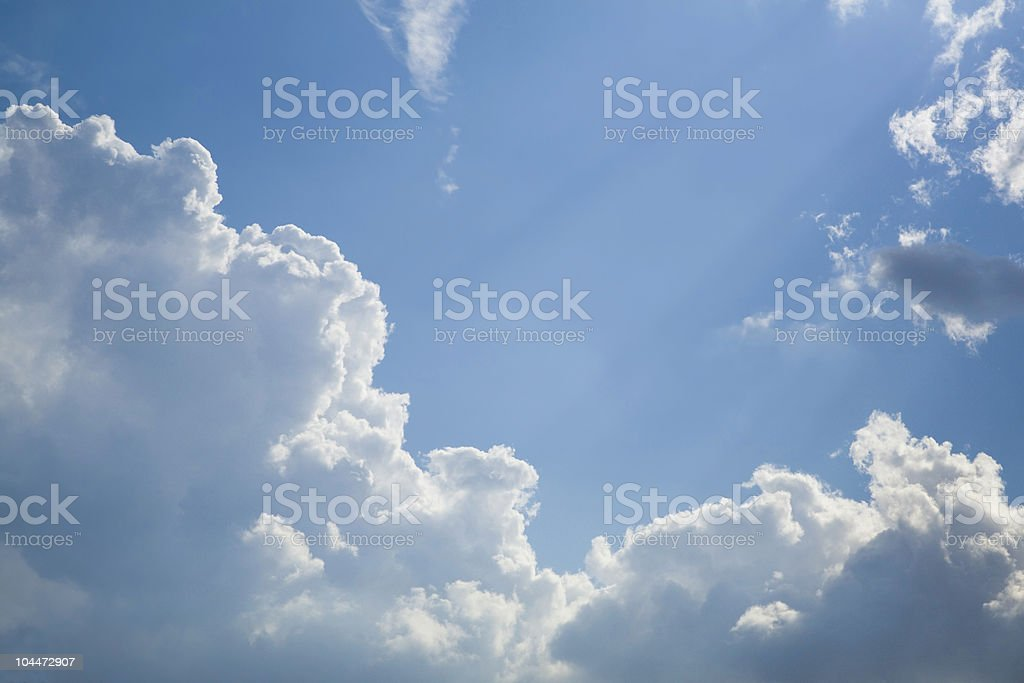 Clouds 1 stock photo