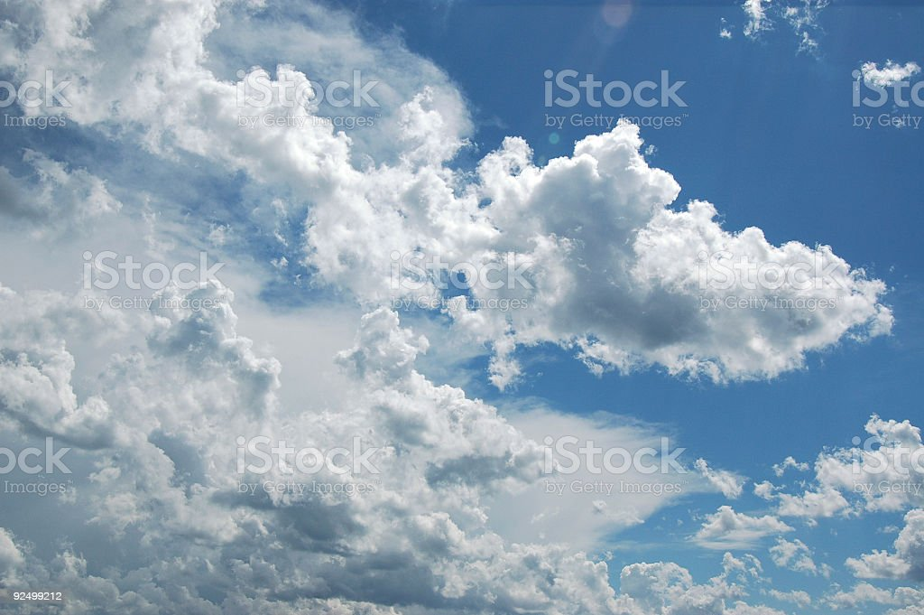 clouds 4 royalty-free stock photo