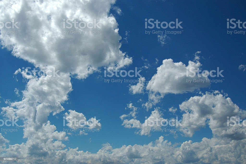 clouds 5 royalty-free stock photo
