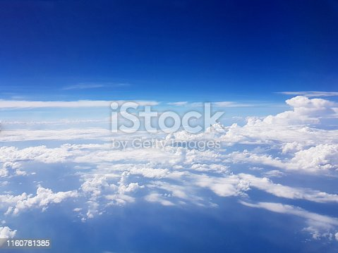 istock Clouds Aerial View, isolate 1160781385