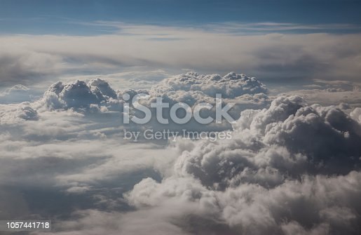 istock Clouds Aerial View 1057441718
