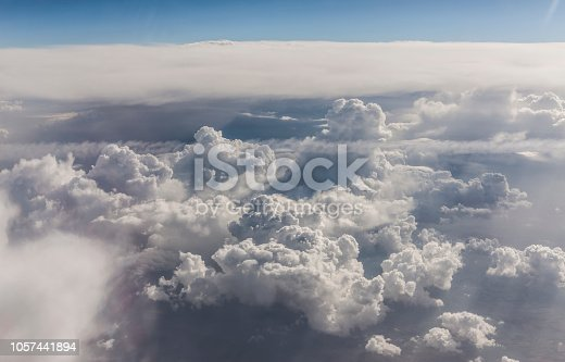 istock Clouds Aerial View 1057441894