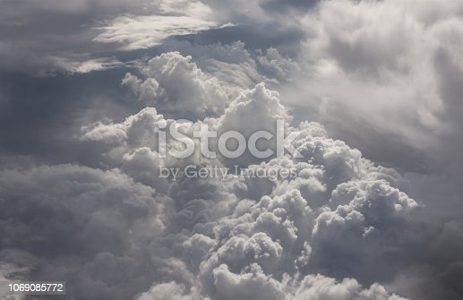 istock Clouds Aerial View 1069085772