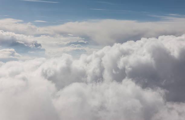 Wolken Luftbild – Foto
