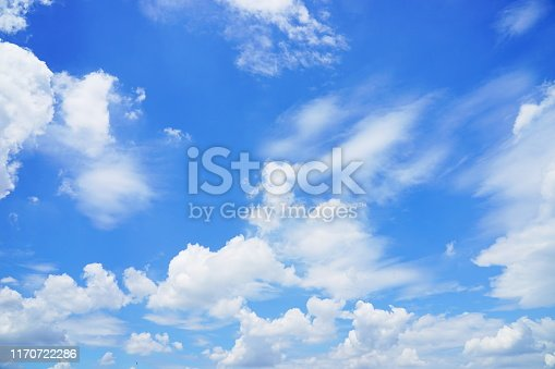 istock Clouds Aerial View 1170722286