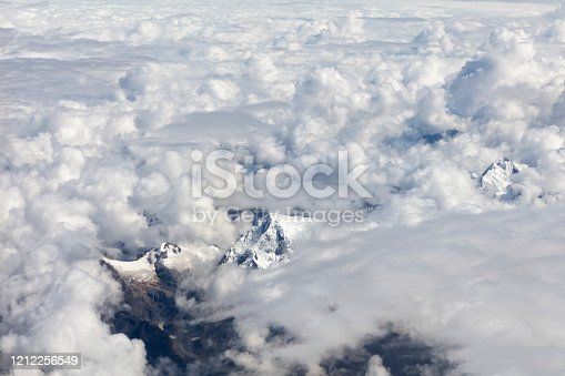 878607638 istock photo Clouds Aerial View 1212256549