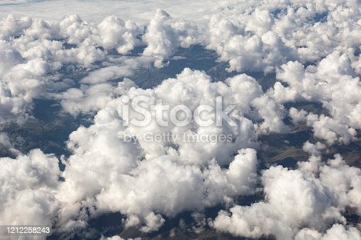 878607638 istock photo Clouds Aerial View 1212258243