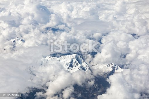878607638 istock photo Clouds Aerial View 1212258343
