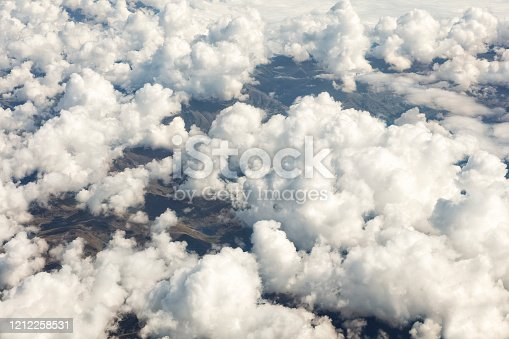 878607638 istock photo Clouds Aerial View 1212258531