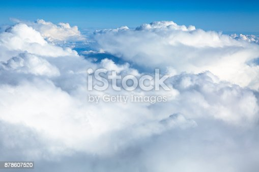 istock Clouds Aerial View 878607520