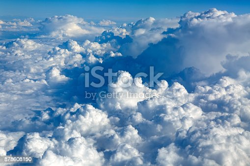 istock Clouds Aerial View 878608150
