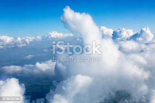 istock Clouds Aerial View 878608296