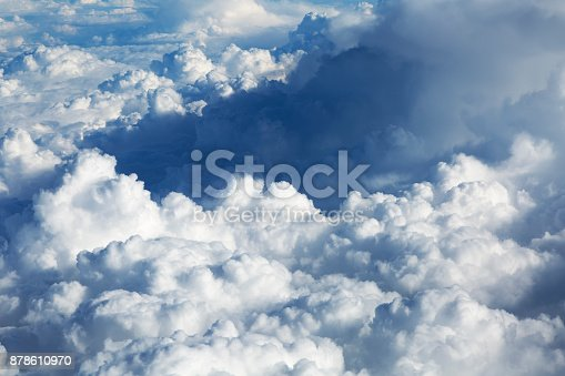 istock Clouds Aerial View 878610970
