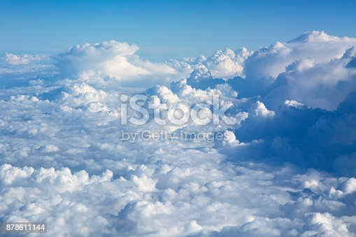istock Clouds Aerial View 878611144