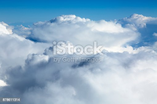 istock Clouds Aerial View 878611314