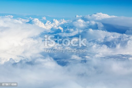 istock Clouds Aerial View 878611696