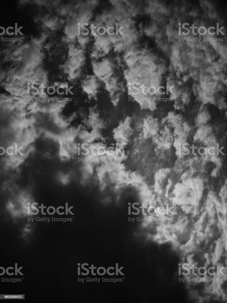 Clouds and and bright rays - Zbiór zdjęć royalty-free (Bez ludzi)