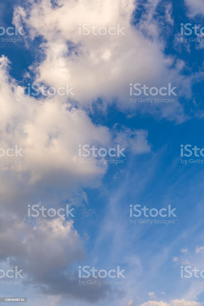 Clouds and blue sky background. Blue sky background with clouds....