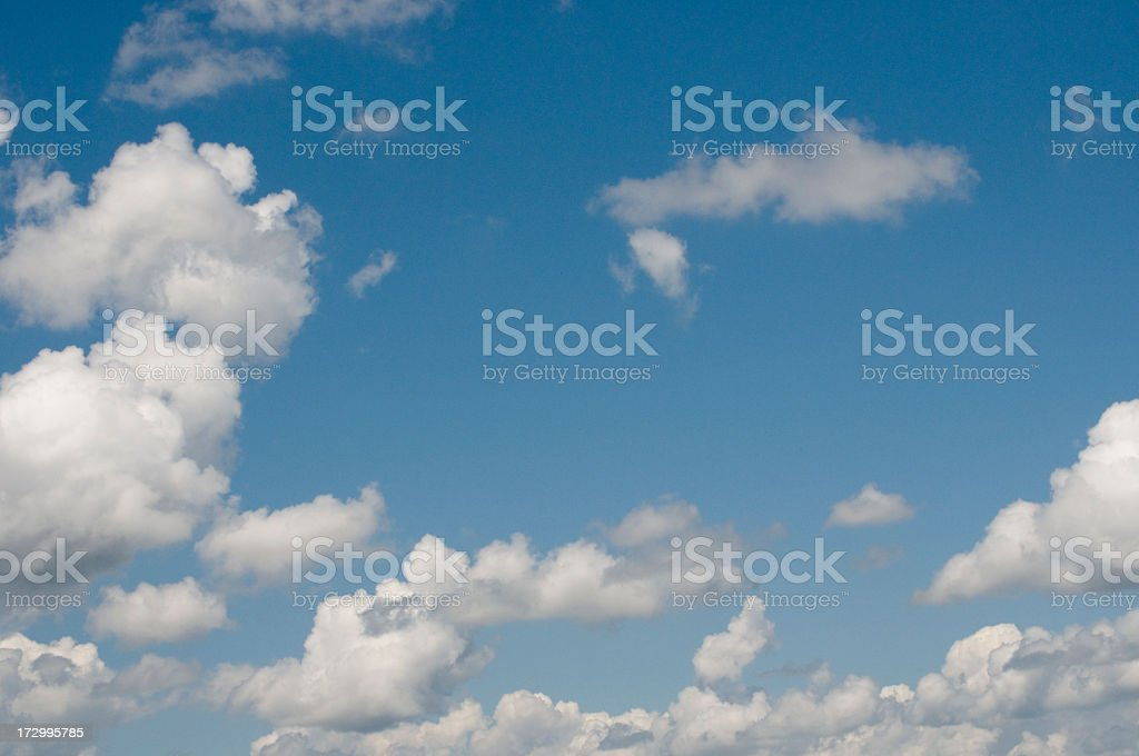 Clouds and Blue Sky royalty-free stock photo