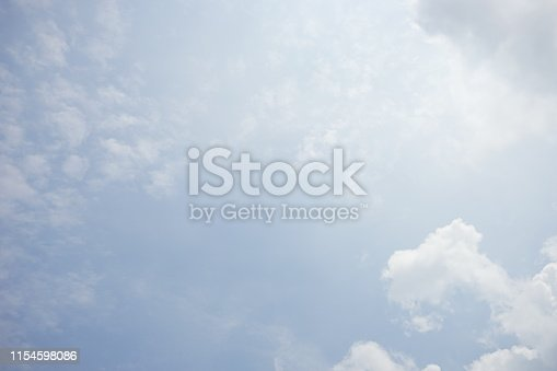 937694668istockphoto Clouds and bright blue sky background 1154598086