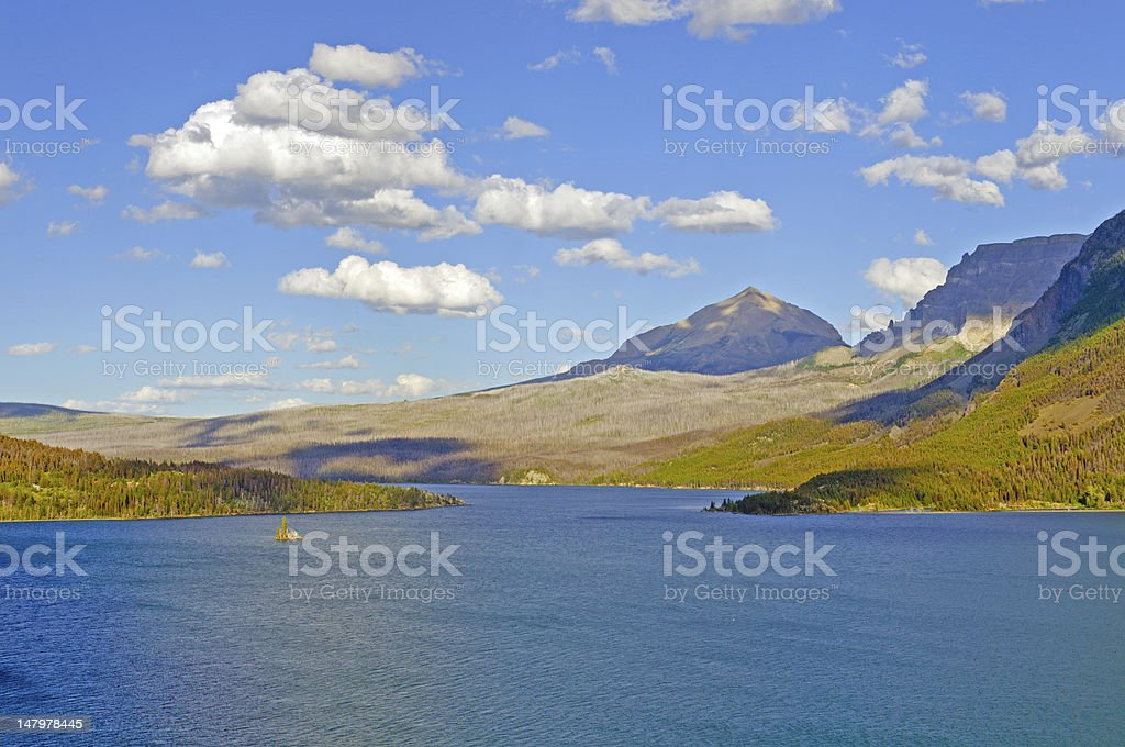 Clouds and Mountains in the American West royalty-free stock photo