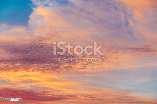 1045890176 istock photo clouds at sunset from the plane in the sky landscape 1222350572