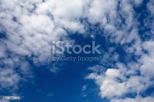 Clouds Background Stock Photo & More Pictures of Above