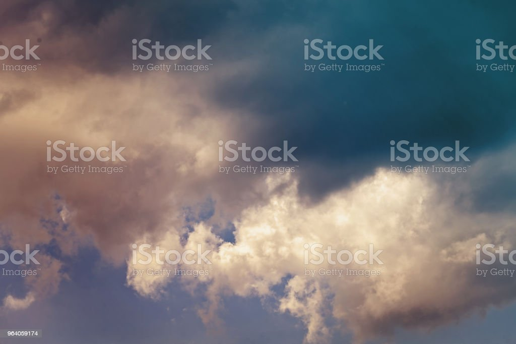 clouds before the storm - Royalty-free Abstract Stock Photo