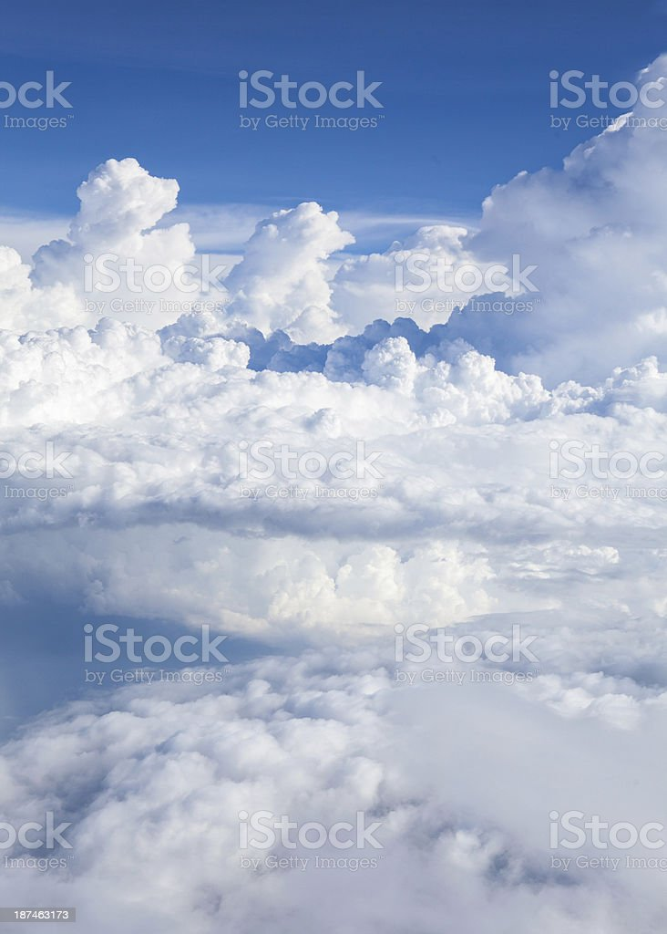 clouds & blue sky royalty-free stock photo