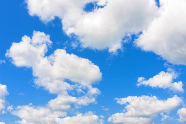 clouds blue sky stock photo