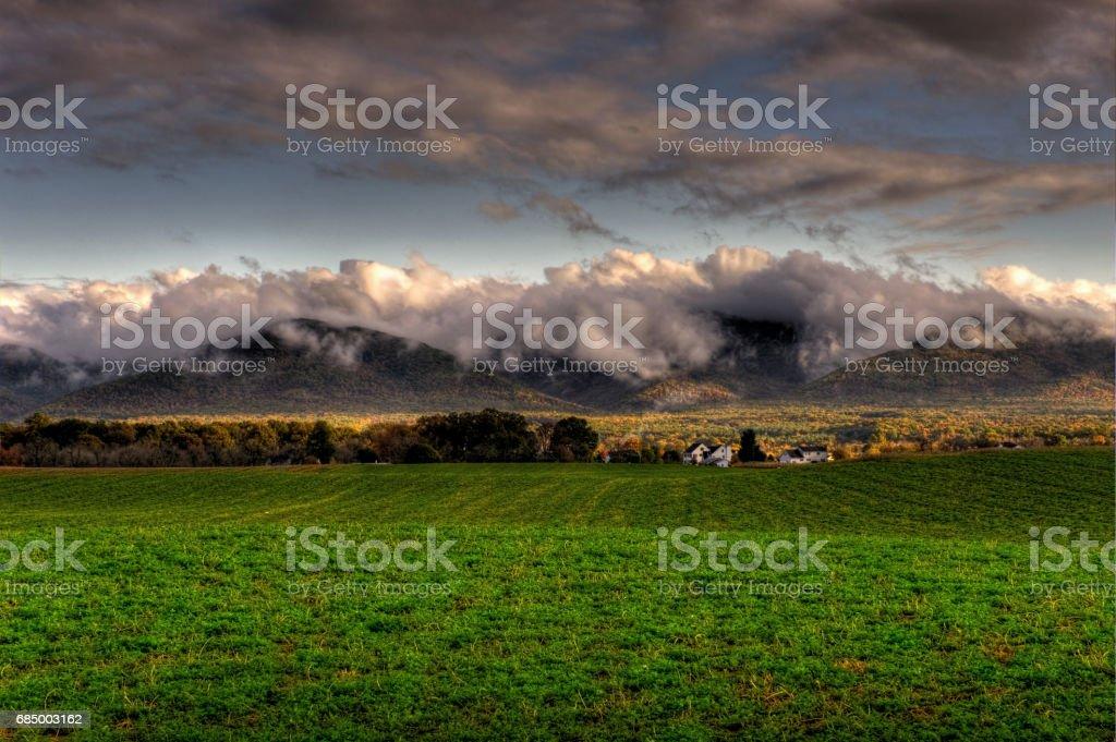 Clouds Envelope Lizenzfreies stock-foto