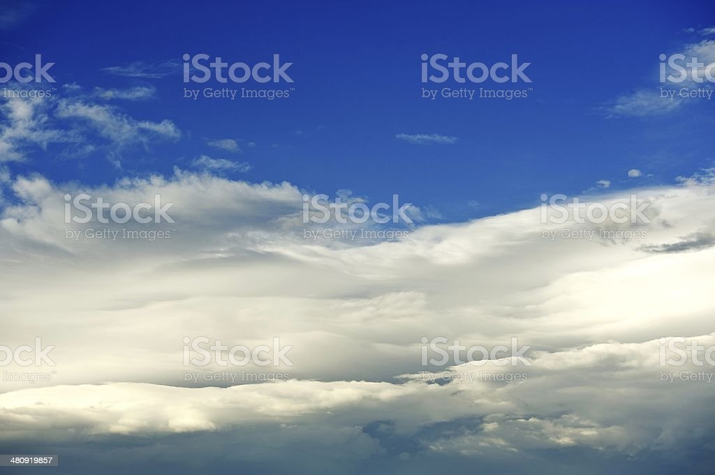 Clouds Formation royalty-free stock photo