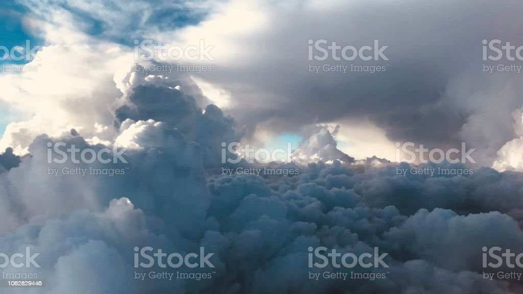 Clouds from the sky stock photo