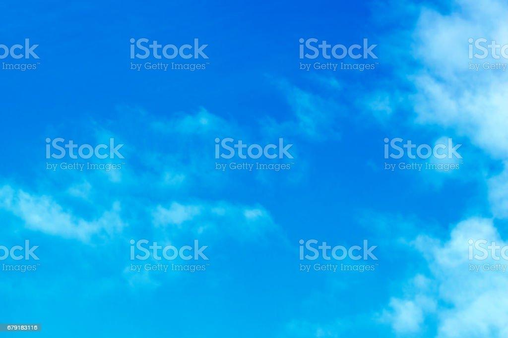 Clouds in a blue sky foto de stock royalty-free