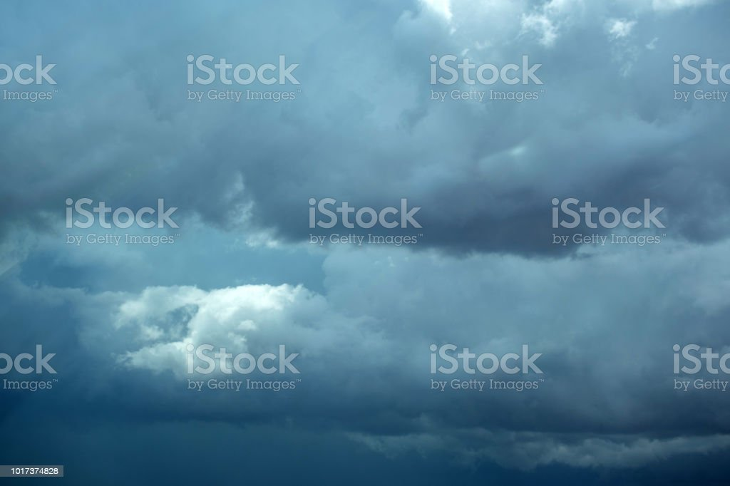 clouds in sky weather stock photo