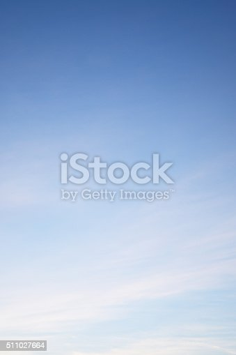 istock Clouds in the blue sky Nature Environment 511027664
