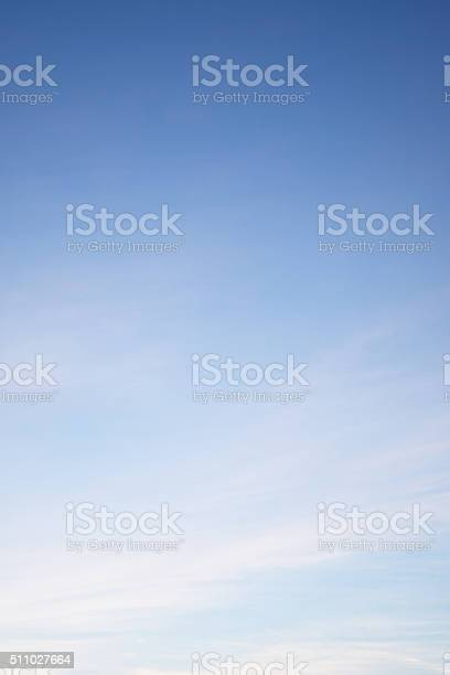 Photo of Clouds in the blue sky Nature Environment