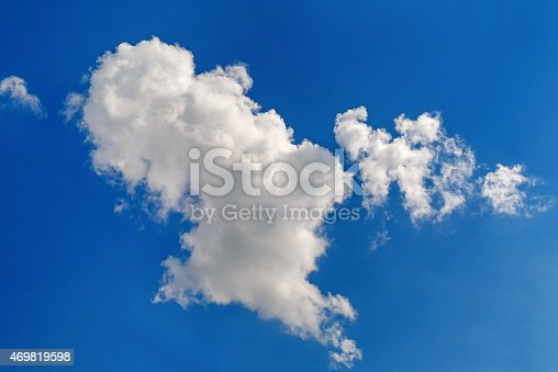 186849963 istock photo Clouds in the blue sky 469819598