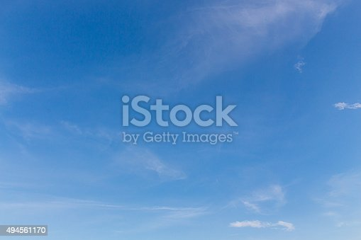istock clouds in the blue sky 494561170