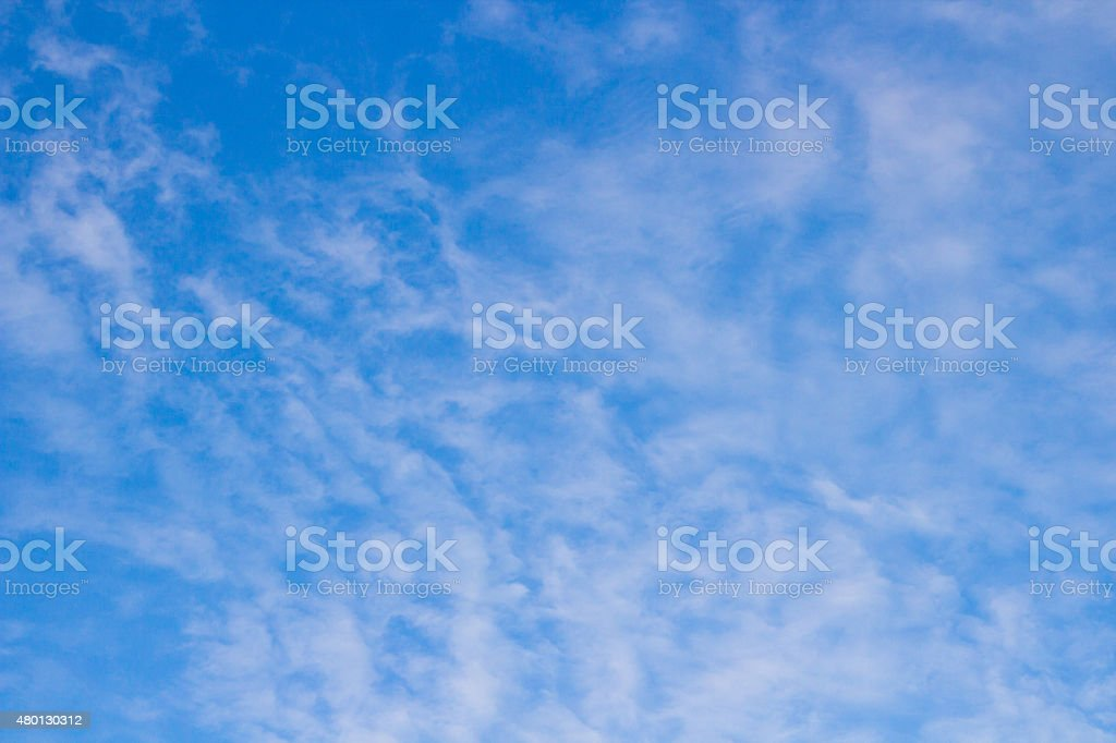 clouds in the sky Cirrocumulus stock photo