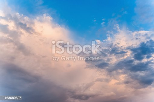 istock Clouds in the sky 1163089627