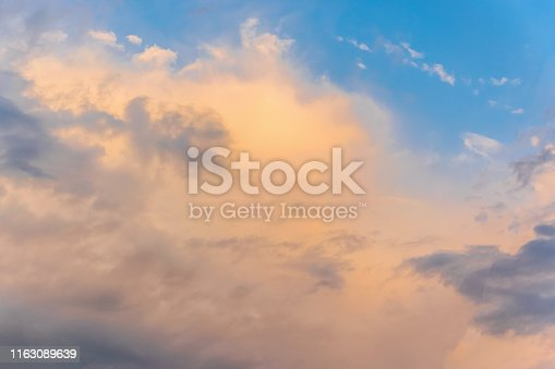 istock Clouds in the sky 1163089639