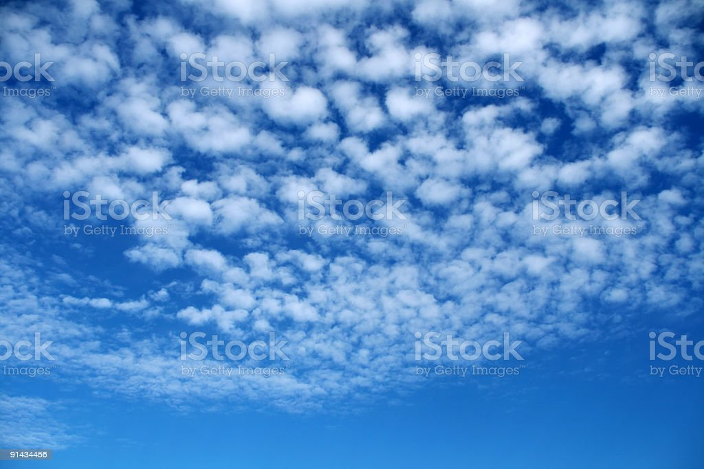 Clouds in the sky. royalty-free stock photo