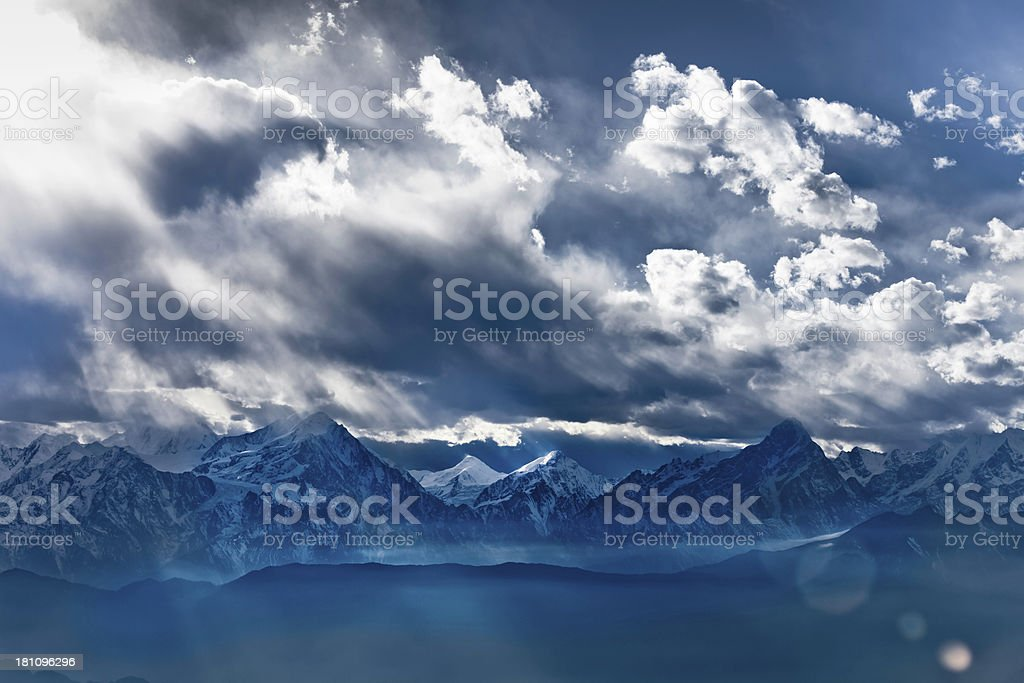 Clouds landscapes royalty-free stock photo