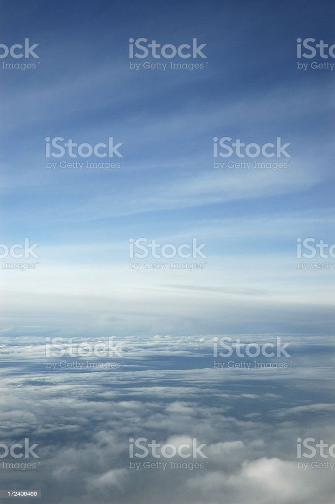 Clouds Meet Sky royalty-free stock photo