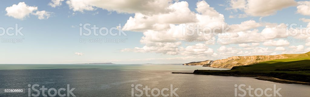 Clouds Of Dover stock photo