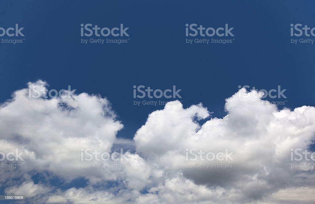 clouds on blue sky royalty-free stock photo